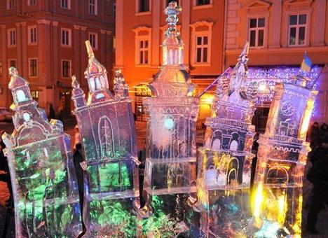 Крижане диво у Львові