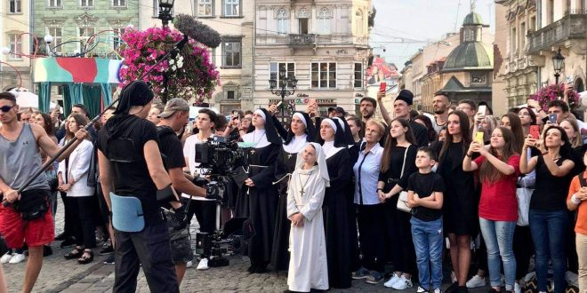 Зйомки фільму «Egregor» у Львові